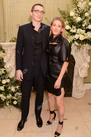 Stock Picture of Caspar Jopling and Ellie Goulding