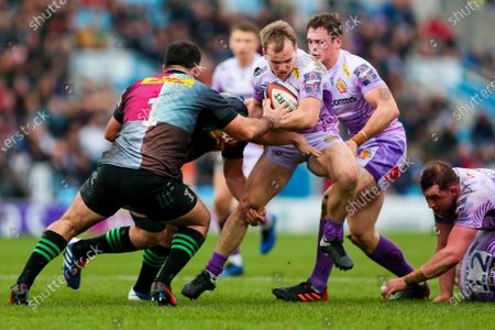 Editorial photo of Exeter Chiefs v Harlequins, UK - 02 Feb 2020