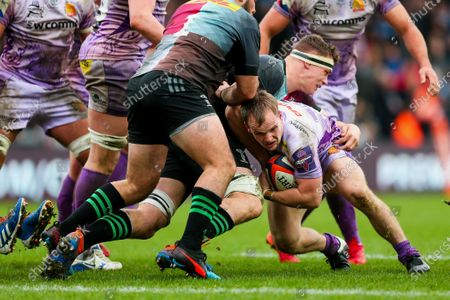 Editorial picture of Exeter Chiefs v Harlequins, UK - 02 Feb 2020