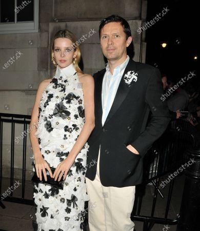 Greta Bellamacina and Robert Montgomery