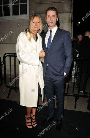 Sophie Dymoke and Matthew Goode