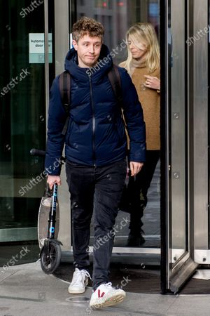 Stock Picture of Matt Edmondson, Molly King at BBC Broadcasting House