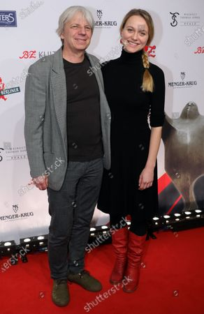 Stock Photo of German film director Andreas Dresen (L) and Italian actress Anna Unterberger (R) arrive for the B.Z. Culture Award ceremony in Berlin, Germany, 28 January 2020. Since 1991, the Berlin tabloid newspaper B.Z. awards this annual prize to personalities that contributed to excellence for cultural and artistic diversity in the German capital.
