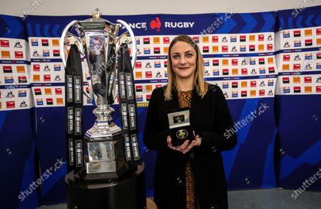 France vs England. Kate Moore of Diageo