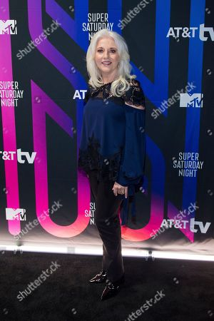 Stock Image of Cynthia Germanotta attends the AT&T TV Super Saturday Night at Meridian on Island Gardens in Miami, in Miami, Fla