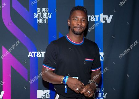 Scott Evans attends the AT&T TV Super Saturday Night at Meridian on Island Gardens in Miami, in Miami, Fla