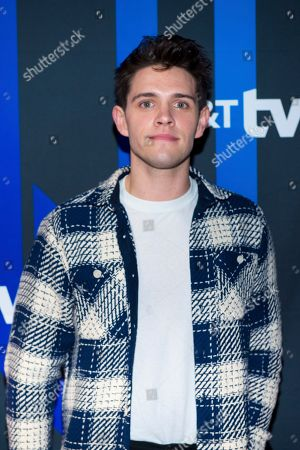 Casey Cott attends the AT&T TV Super Saturday Night at Meridian on Island Gardens in Miami, in Miami, Fla