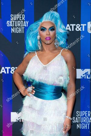 Shangela attends the AT&T TV Super Saturday Night at Meridian on Island Gardens in Miami, in Miami, Fla