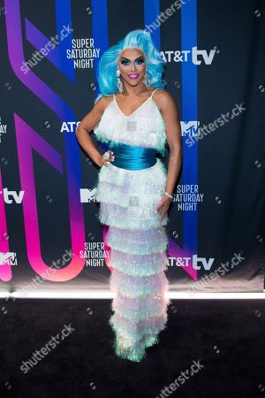 Stock Image of Shangela attends the AT&T TV Super Saturday Night at Meridian on Island Gardens in Miami, in Miami, Fla