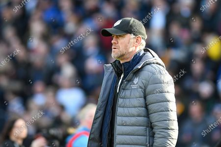 Toronto Wolfpack Head Coach Brian McDermott before the Betfred Super League match between Toronto Wolfpack and Castleford Tigers at Emerald Headingley Stadium, Leeds