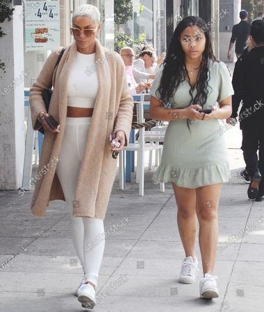 Stock Picture of Nicole Murphy and Zola Ivy Murphy