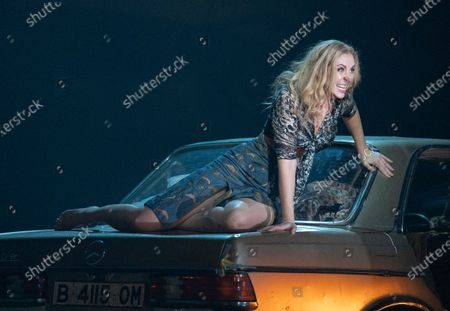 Stock Photo of Justina Gringyte as Carmen,