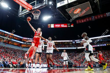 USA Women's National Team forward Breanna Stewart (10) shoots past Louisville forward Elizabeth Dixon (22) during the second half of an exhibition basketball game, in Louisville, Ky