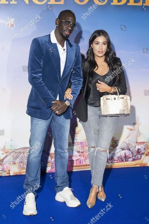 Stock Photo of Mamadou Sakho and Majda Sakho