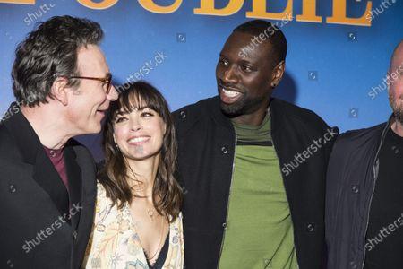 Michel Hazanavicius, Berenice Bejo and Omar Sy