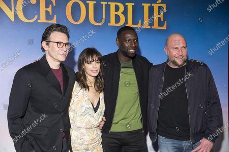 Stock Photo of Michel Hazanavicius Berenice Bejo, Omar Sy and Francois Damiens