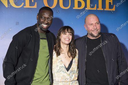 Stock Image of Omar Sy, Berenice Bejo and Francois Damiens