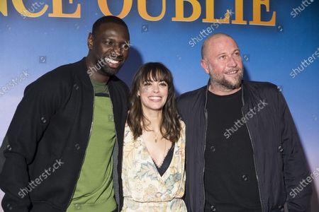 Omar Sy, Berenice Bejo and Francois Damiens
