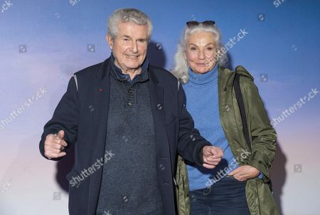 Claude Lelouch and Martine Lelouch