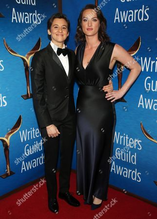Editorial photo of Writers Guild Awards, Arrivals, Los Angeles, USA - 01 Feb 2020