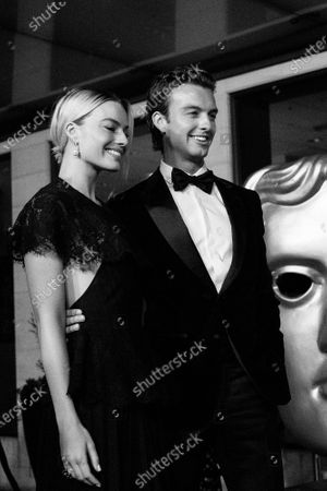 Stock Image of Margot Robbie and Cameron Robbie