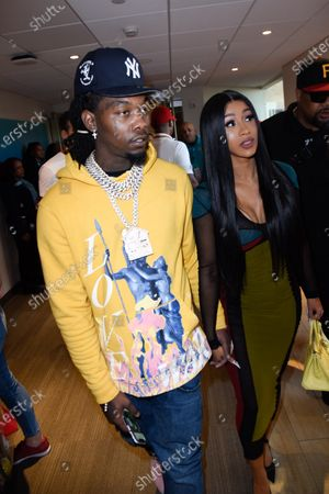 Stock Picture of Offset and Cardi B