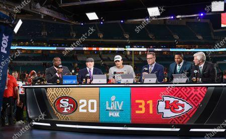 Editorial picture of Fox Sports coverage of Super Bowl LIV, American Football, Miami, Florida, USA  - 02 Feb 2020