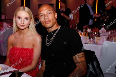 Stock Photo of Anna Hiltrop and Jeremy Meeks