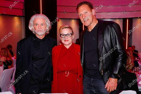 Dr Hermann Buehlbecker, Patricia Arquette and Ralf Moeller
