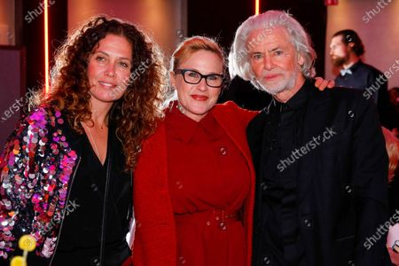 Tara Smith, Patricia Arquette and Dr Hermann Buehlbecker