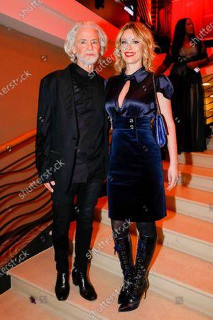Dr Hermann Buehlbecker and Kiera Chaplin