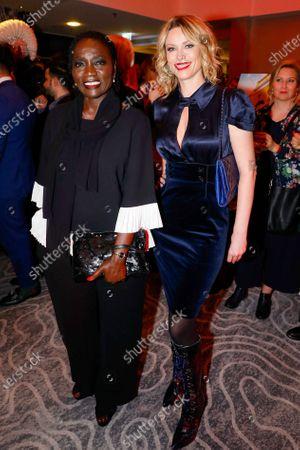 Auma Obama and Kiera Chaplin