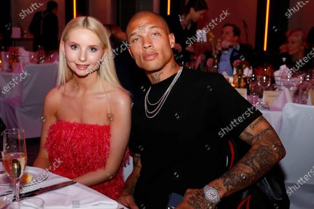 Anna Hiltrop and Jeremy Meeks