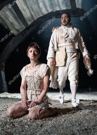 Jodie McNee as Joanna Faustus, Danny Lee Wynter as Mephistopheles,