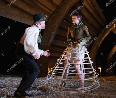 Barnaby Power,  Jodie McNee as Joanna Faustus,