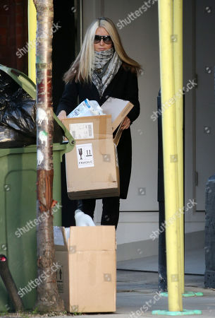 Caprice Bourret out and about