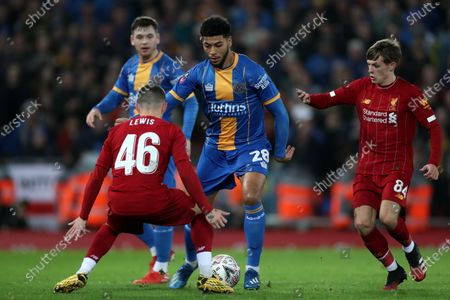 Editorial picture of Liverpool v Shrewsbury Town, Emirates FA Cup Fourth Round Replay, Football, Anfield, UK - 04 Feb 2020