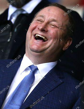 Newcastle United owner Mike Ashley