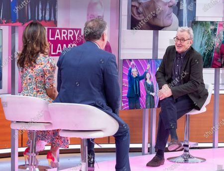 Piers Morgan, Susanna Reid, Larry Lamb