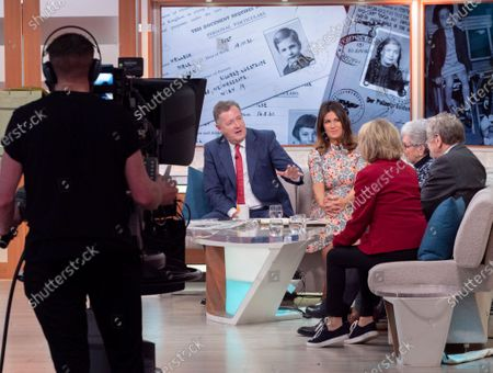Piers Morgan, Susanna Reid, Lady Grenfell-Baines, John Fieldsend, Lord Alf Dubs and Esther Rantzen