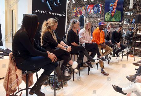 Anita Parr, Eden Sassoon, Jen Lynch, Elisabeth Rohm, Amin Joseph, Steve Valentine, Jeremy Courtney