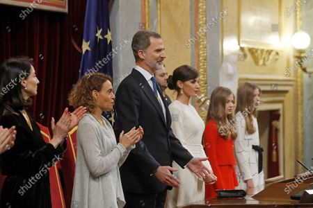 Editorial picture of State Opening of Spanish Parliament, Madrid, Spain - 03 Feb 2020