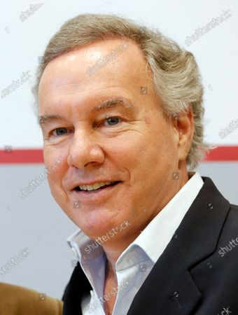 The Intendant of the Nibelungen festival, Nico Hofmann attends a press conference about the Nibelungen Festival program of 2020, in Berlin, Germany, 03 February 2020. The open air theatre festival takes place annually in the German city of Worms as part of the cultural summer of Rhineland-Palatinate state. This year's premiere will be 'Hildensaga. A Queen's Drama' by Ferndinand Schmalz.