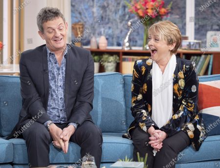Matthew Wright and Anne Diamond