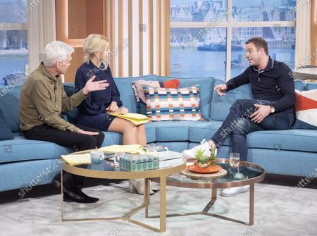 Editorial image of 'This Morning' TV show, London, UK - 03 Feb 2020