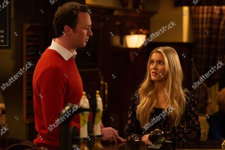 Ep 8731 Thursday 13th February 2020 - 2nd Ep Leyla and Liam Cavannagh, as played by Jonny McPherson, want to be together but it's not going to be easy. Can Liam explain the relationship to Leanna Cavannagh, as played by Mimi Slinger, without upsetting her?