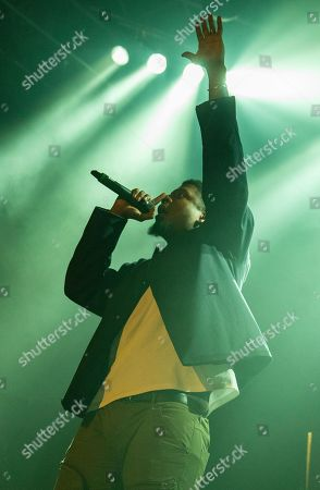 Stock Picture of Mick Jenkins