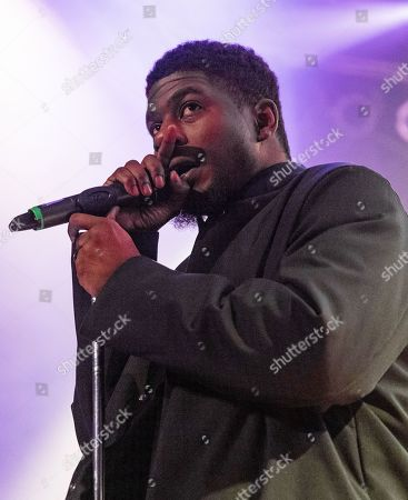 Editorial picture of Mick Jenkins in concert during the Welcome to Mirrorland Tour at House of Blues, Chicago, Illinois, USA - 31 Jan 2020