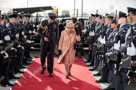 Editorial photo of Queen Elizabeth II visits RAF Marham, Norfolk, UK - 03 Feb 2020