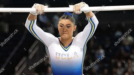 UCLA's Kyla Ross during an NCAA gymnastics meet on in Los Angeles